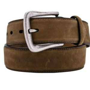 Nocona Brown Leather Western Belt Size 44